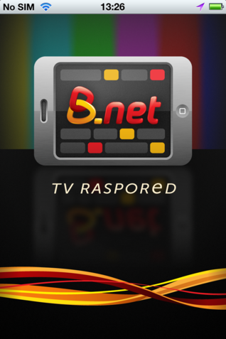 B.net TV raspored i za iOS